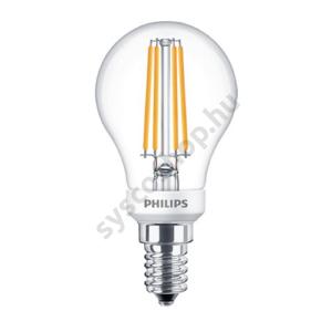 LED 5W/827/E14 - LEDluster D 5-40W P45 CL - FILAMENT Classic D - Philips - 929001332502