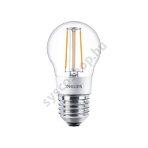 LED 4.5W/827/E27 - LEDluster D 4,5-40W P45 CL - FILAMENT Classic D - Philips - 929001227602
