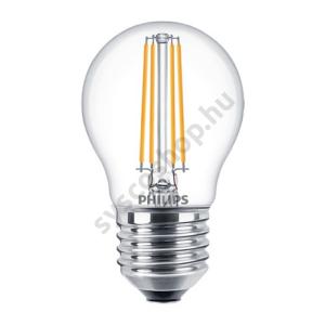 LED 5W/827/E27 - LEDluster D 5-40W P45 CL - FILAMENT Classic D - Philips - 929001332602