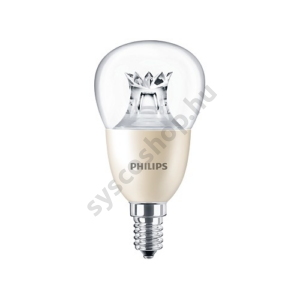 LED 8W/822/E14 - LEDluster 8-60W 827-822 P50 CL - MASTER DT - Philips - 929001211902
