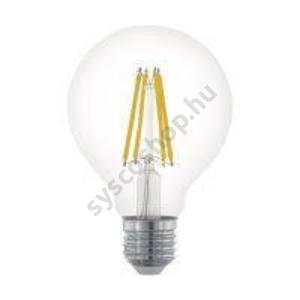LED 6W/827 E27 806lm normál G80 forma dimmelhető 2700K - LED filament - Eglo - 11702