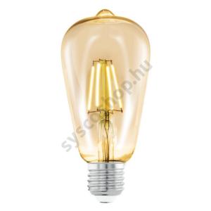LED fényforrás 1X4W E27 ST64 2200K borostyán LM_LED_E27 - Eglo - 11521