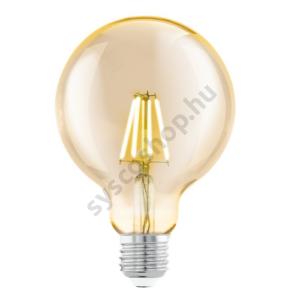 LED fényforrás 1X4W E27 G95 2200K borostyán LM_LED_E27 - Eglo - 11522