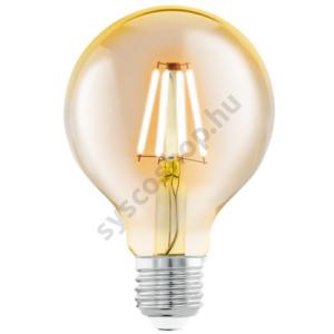 LED fényforrás 1X4W E27 G80 2200K borostyán LM_LED_E27 - Eglo - 11556