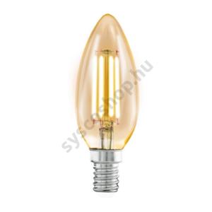 LED fényforrás 1X4W E14 2200K gyertya borostyán LM_LED_E14 - Eglo - 11557