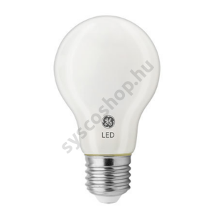 LED 4,5W/827 E27 normál forma 220-240V 470Lm 300° GLASS A60 F - GE/Tungsram - 93074732