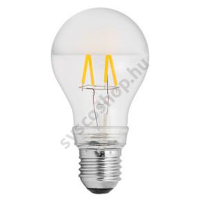 LED 4W/827 E27 normál forma 220-240V 460Lm 355° A60 FIL Pearl - GE/Tungsram - 93046416