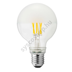 LED 4W/827 E27 tetőtükrös nagy gömb 220-240V 460lm G80FIL 355° Pearl - GE/Tungsram - 93053089
