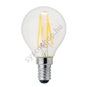 LED P45FIL 4W/827/E14 470Lm 355° 220-240V 1/6 - GE/Tungsram - 93051675