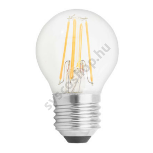 LED 4W/827 E27 gömb 220-240V 470Lm P45 FIL 355° 1/6 - GE/Tungsram - 93051676