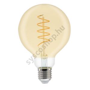 LED GLOBE80 5.5W/820/E27 250Lm Fil Heliax Dim - GE/Tungsram - 93078643