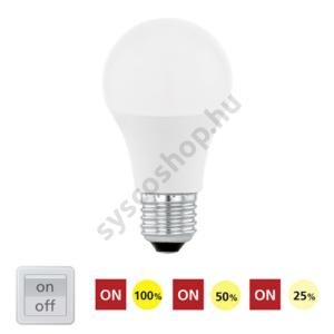 LED E27 10W 830/3000K/806lm - Eglo - 11561