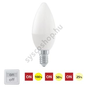 LED E14 6W 830/3000K/470lm - Eglo - 11581