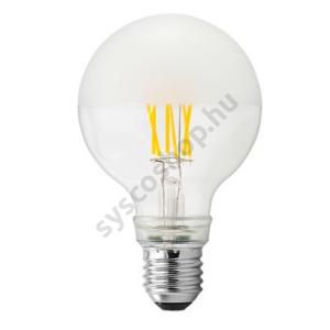 LED 5W/827 E27 nagy gömb 220-240V 590lm 2700K LED5/G80 FIL/Pearl - Ge/Tungsram - 93052992