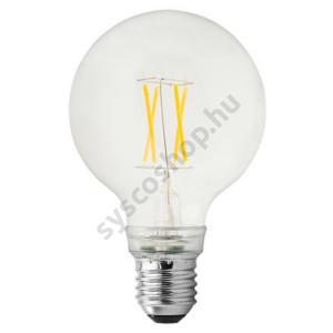 LED 6.5W/827 E27 nagy gömb 220-240V 760lm 2700K LED6.5/G80 FIL/Clear - Ge/Tungsram - 93052991