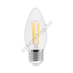 LED 4W/827 E27 470lm 2700K LED4/B35 FIL/220-240V 1/10 - Ge/Tungsram - 93051681