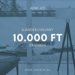 AJÁNDÉKUTALVÁNY 10.000 Forint értékben