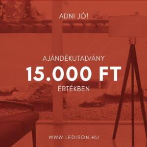 AJÁNDÉKUTALVÁNY 15.000 Forint értékben