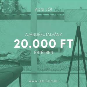 AJÁNDÉKUTALVÁNY 20.000 Forint értékben