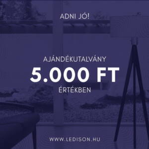 AJÁNDÉKUTALVÁNY 5000 Forint értékben