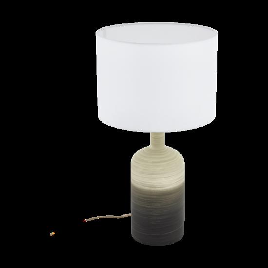 Asztali lámpa E27 1x40W bézs/szürke Azbarren - Eglo - 39753