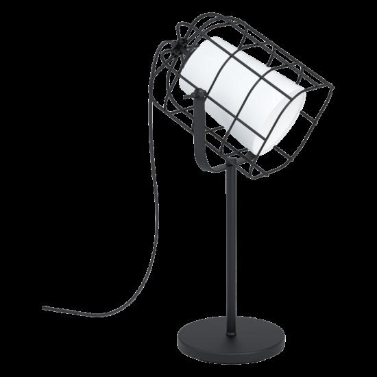Asztali lámpa E27 1x10W fekete/fehér Bittams - Eglo - 43421