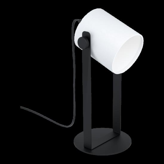 Asztali lámpa E27 1x28W fekete/fehér Hornwood - Eglo - 43428