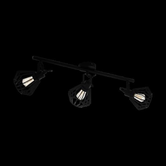 Fali/mennyezeti lámpa E27 3x40W fekete Tabillano - Eglo - 98764