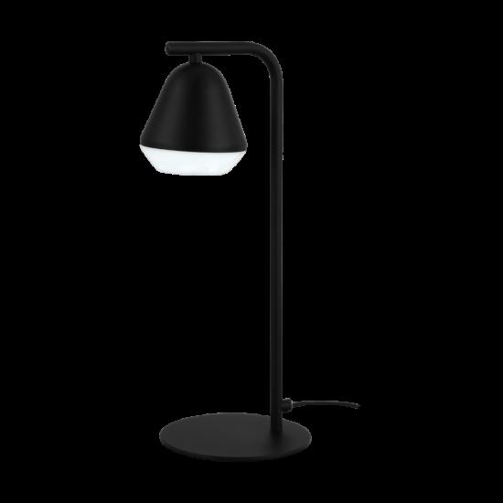 LED-es asztali lámpa GU10 3W fekete/szatén Palbieta - Eglo - 99035