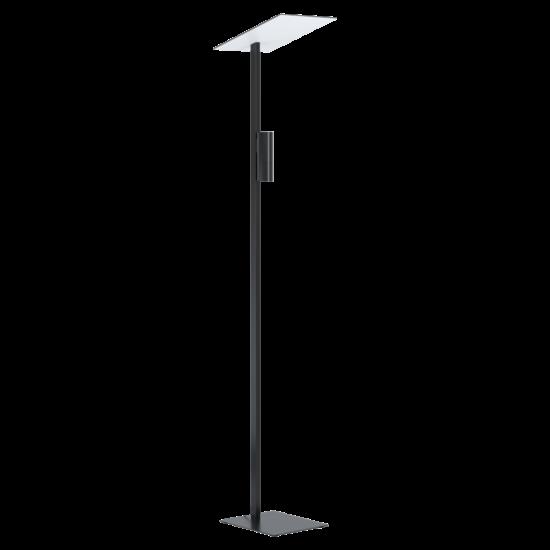 LED-es állólámpa GU10 2x5W fekete/fehér Budensea - Eglo - 99113
