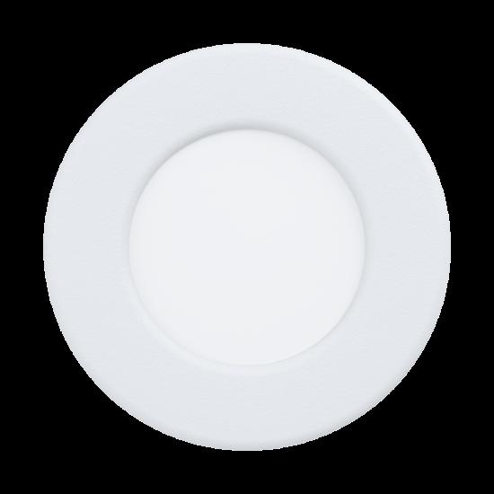 LED-es beépíthető lámpa 2,7W 8,6cm 3000K 300lm fehér Fueva 5 - Eglo - 99131