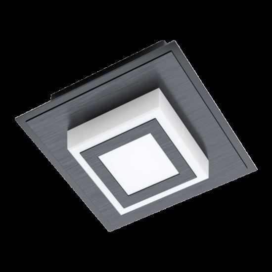 LED-es fali/mennyezeti lámpa 3,3W 3000K 340lm fekete Masiano 1 - Eglo - 99361