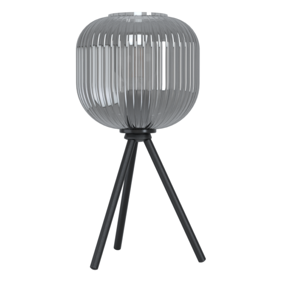Asztali lámpa E27 1x40W fekete/átlátszó Mantunalle - Eglo - 99374
