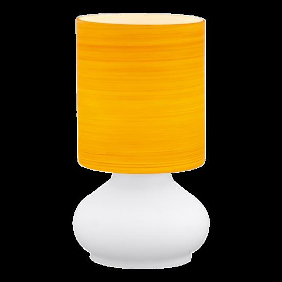 Asztali lámpa E27 1X60W ehér/nar. - Leonor EGLO - 13956