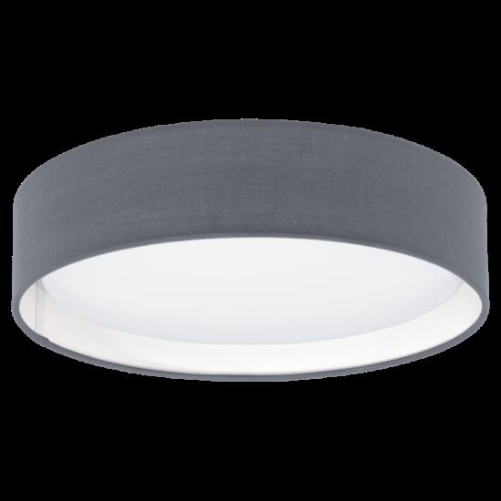 Textil mennyezeti lámpa LED 12W 32cm szürke Pasteri EGLO - 31592