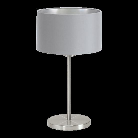 Textil asztali lámpa E27 60W szürke Maserlo EGLO - 31628