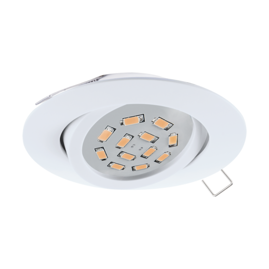 LED-es beépíthető lámpa szpot GU10 1x5W fehér EGLO - 31682