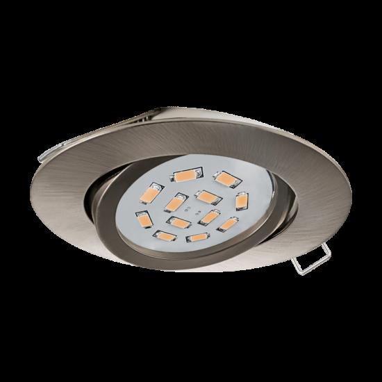 LED-es beépíthető lámpa szpot GU10 1x5W matt nikkel EGLO - 31688