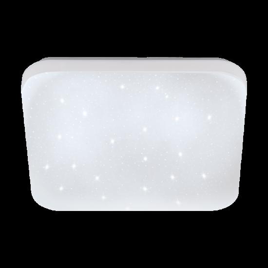 LED-es fali/mennyezeti lámpa 4000K 900lm 22X22cm kristály FRANIA-S - Eglo - 33597
