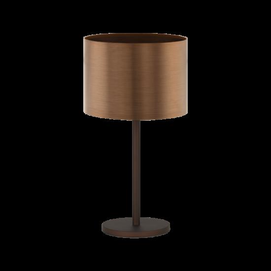 Asztali lámpa 60W barna/vörösréz 66cm SAGANTO 1 - Eglo - 39394