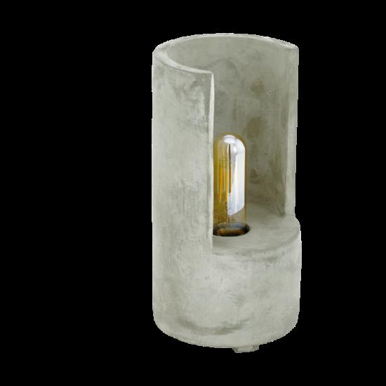 Asztali lámpa E27-es max.1x60W szürke 270mmX140mm - LYNTON - Eglo - 49111