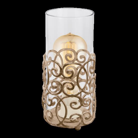Asztali lámpa E27 60W barna-patina Vintage EGLO - 49274