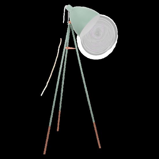 Állólámpa E27 60W menta 135,5cm Vintage EGLO - 49342
