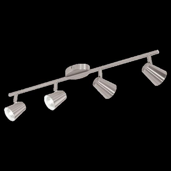 Szpot lámpa LED-es GU10 4X3,3W 68,5cm matt nikkel - Travale2 EGLO - 75144