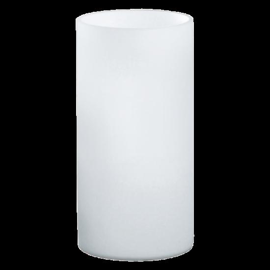 Asztali lámpa 1x60W E14 mag:20cm opál Geo EGLO - 81827