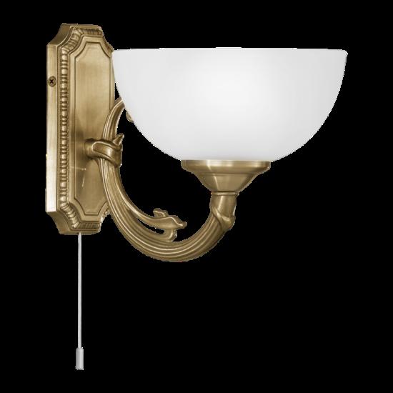 Fali lámpa 1x40W E14 húzókapcsolós bronz Savoy EGLO - 82751