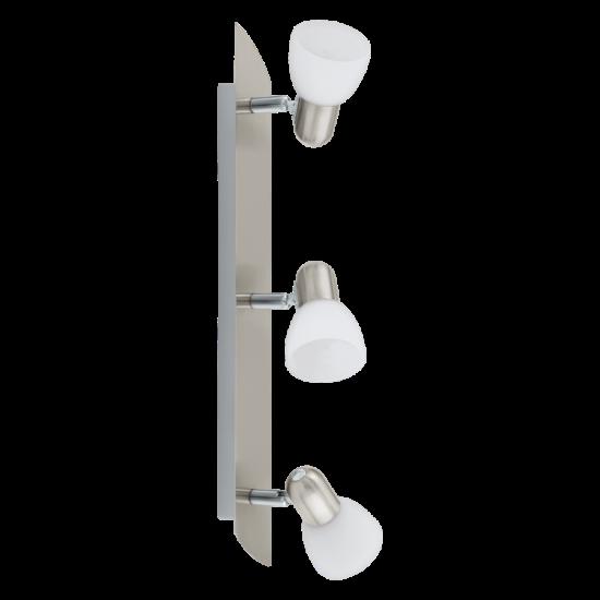 Egyenes lámpa 3x40W E14 ↔50cm matt nikkel Enea EGLO - 90985