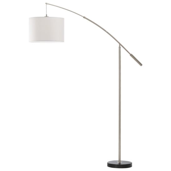 Állólámpa E27 1x60W matt nikkel/fehér Nadina EGLO - 92206