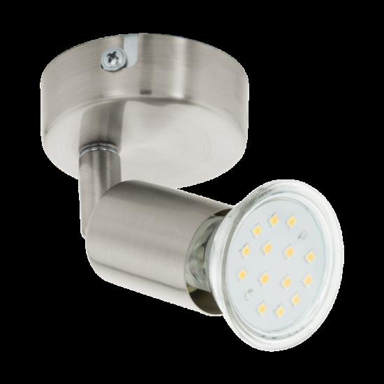 LED-es fali lámpa GU10 1x3W matt nikkel Buzz LED EGLO - 92595