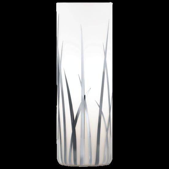 Asztali lámpa E27 60W fehér üveg/króm mintás d:9cm m:26cm Rivato EGLO - 92743